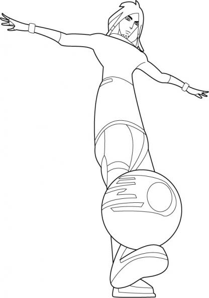 Coloriage de galactik football a imprimer - Galactik football personnage ...