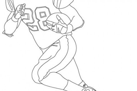 dessin � colorier galactik football d'jok