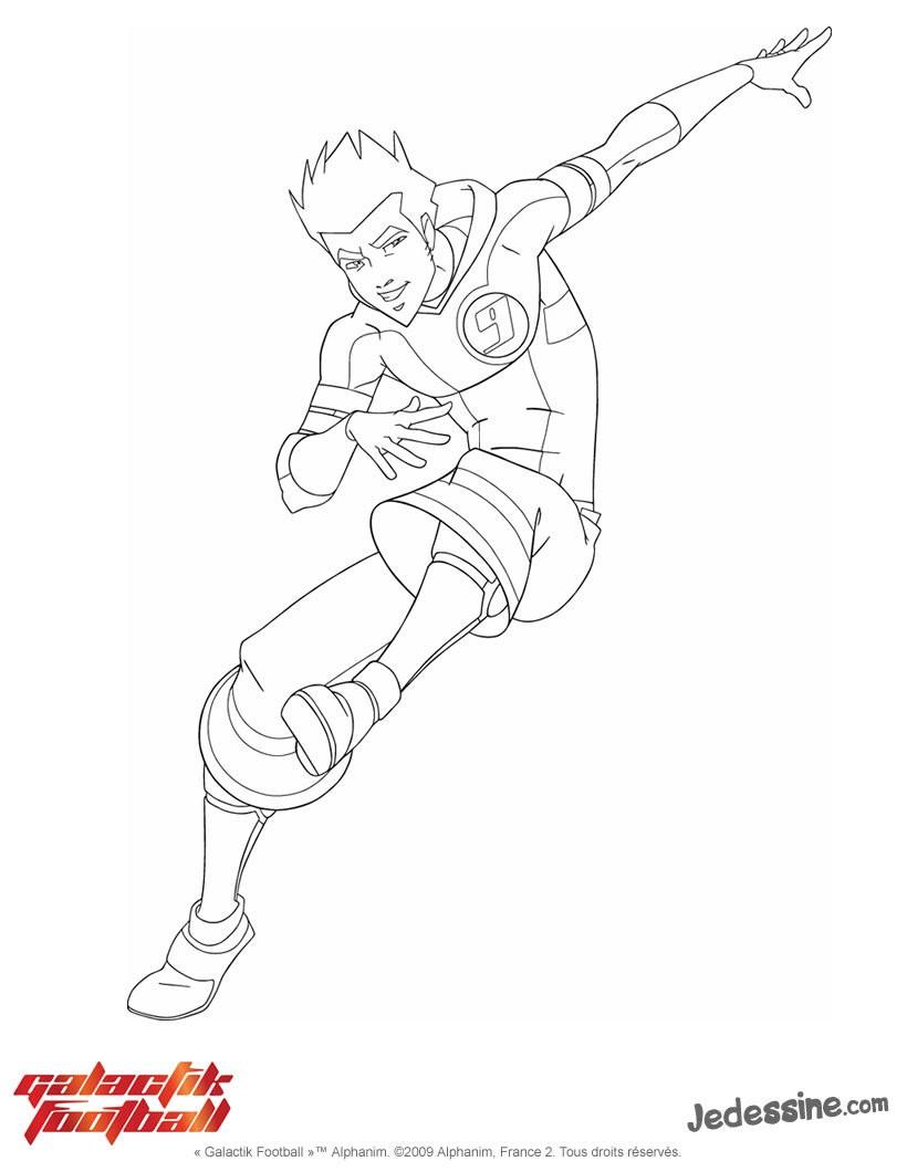 coloriage de galactik football a imprimer