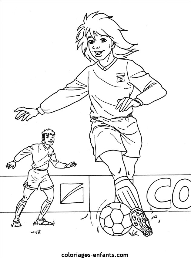 coloriage galactik football 3