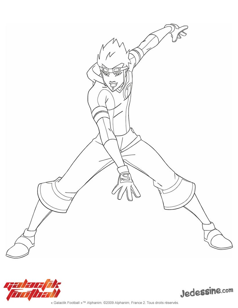 dessin galactik football shadows