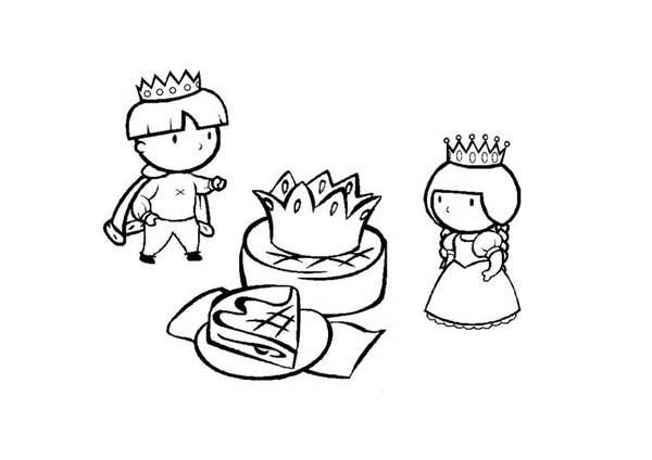 coloriage galette des rois maternelle à imprimer