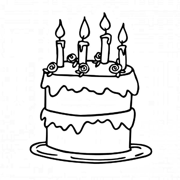 Anniversaire24 dessin gateaux anniversaire - Dessin sur gateau anniversaire ...