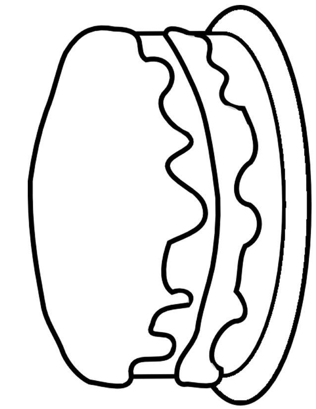 Célèbre 15 dessins de coloriage Gateau Anniversaire à imprimer XI27