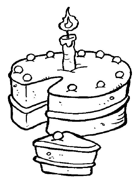 Dessin gateau d 39 anniversaire 3 ans - Gateau d anniversaire a colorier ...