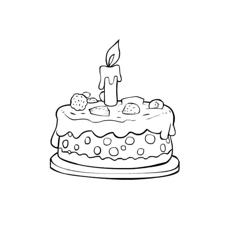 Coloriage Gateau Cake.30 Dessins De Coloriage Gateau A Imprimer