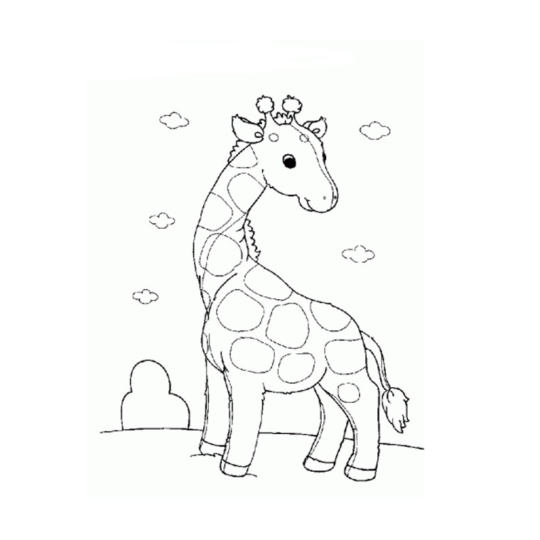 Coloriage Famille Elephant.Coloriage A Dessiner Famille Girafe