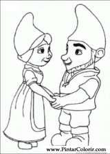 gnomeo et juliette dessin gratuit