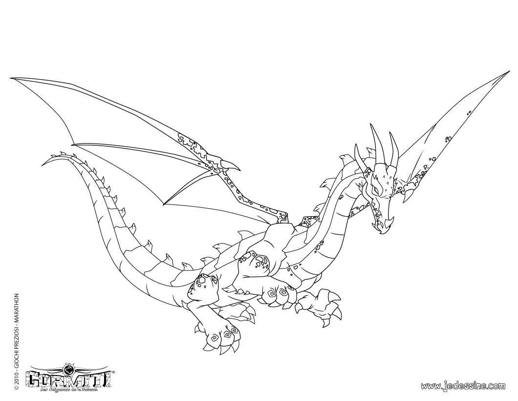 57 dessins de coloriage gormiti 3d à imprimer