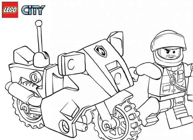 Coloriage204 coloriage lego a imprimer - Dessin de lego city ...