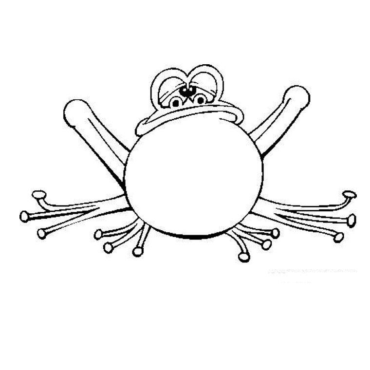 dessin princesse grenouille gratuit