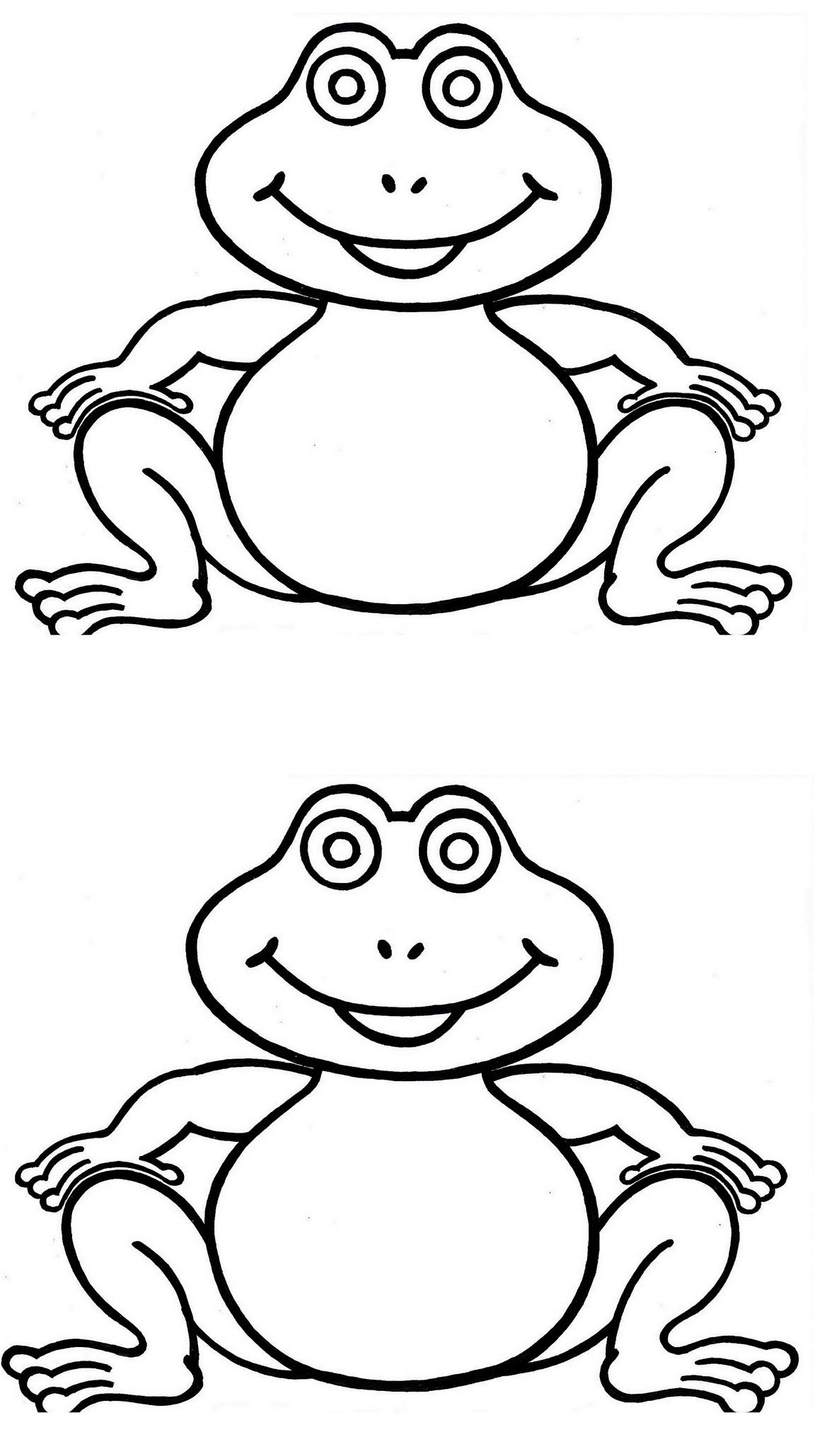 coloriage à dessiner dessiner une grenouille