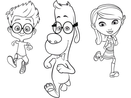 coloriage grojband