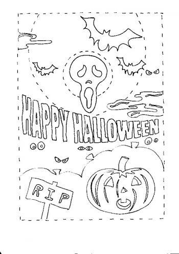 99 dessins de coloriage halloween a imprimer qui fait peur for Decoration qui fait peur