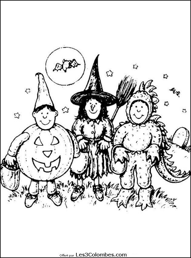 coloriage halloween en ligne gratuit