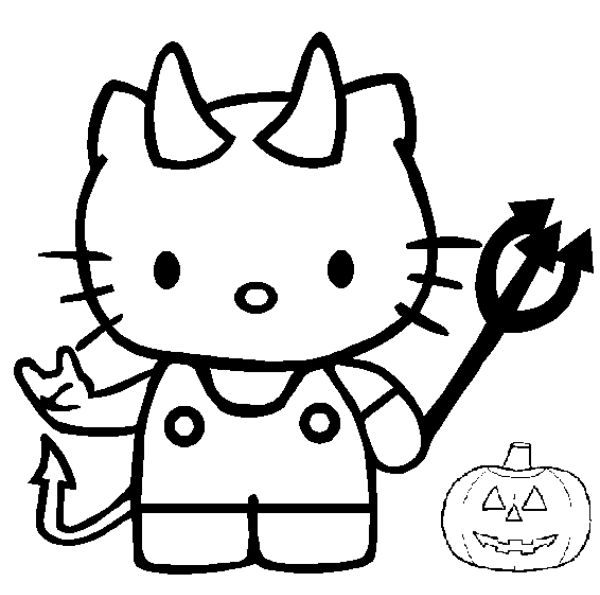 Dessin Halloween Chat Noir