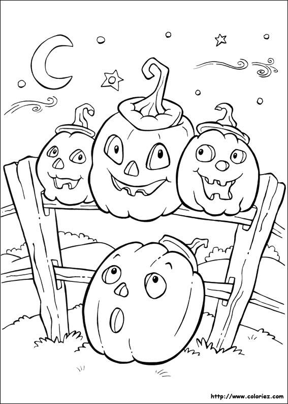 dessin halloween gratuit télécharger