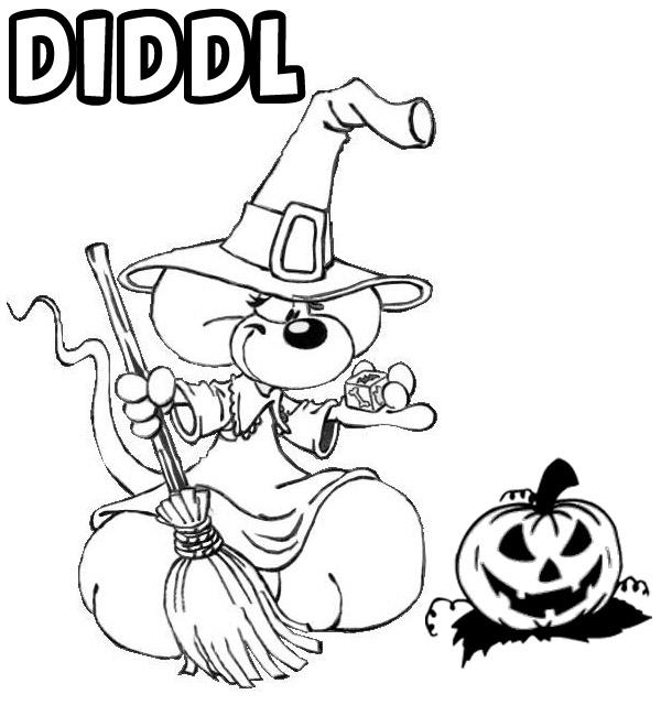 Dessin dessin halloween imprimer - Imprimer coloriage halloween ...
