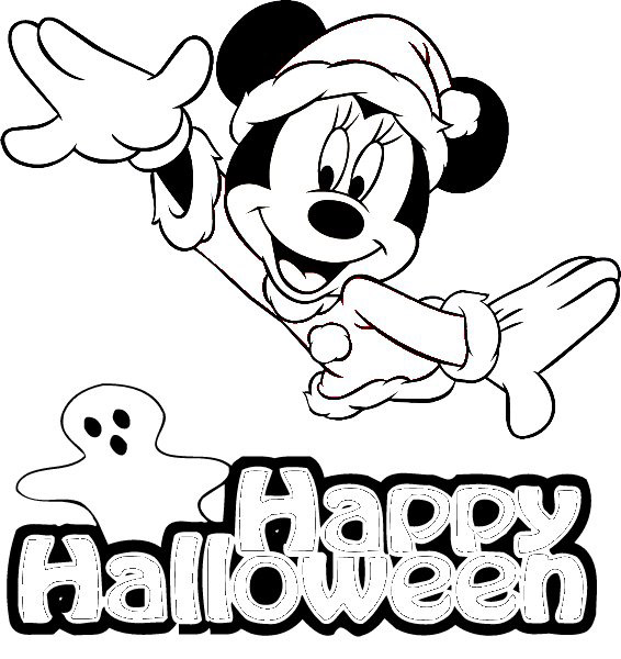 coloriage � dessiner d'halloween a imprimer