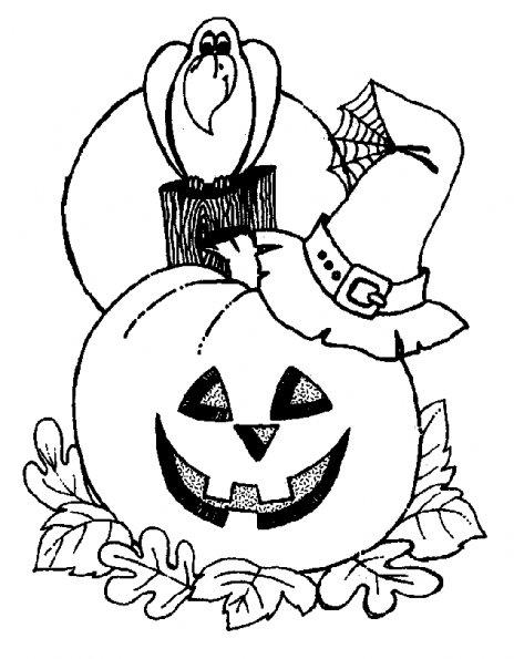 dessin theme halloween