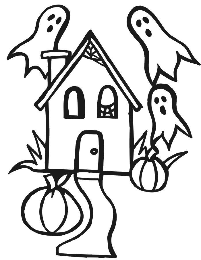 Dessin Halloween Pour Fille