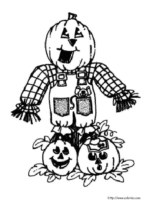 dessin à colorier halloween a colorier en ligne