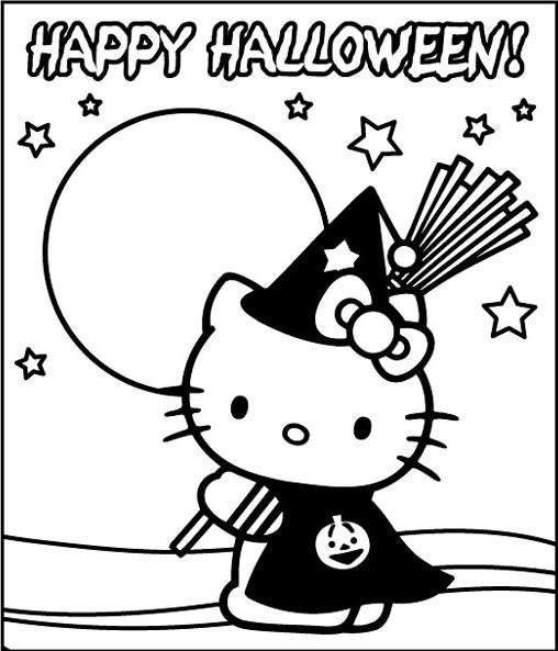Coloriage A Dessiner Halloween A Imprimer Qui Fait Peur