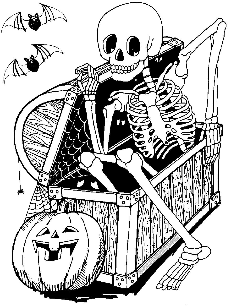 131 Dessins De Coloriage Halloween A Imprimer