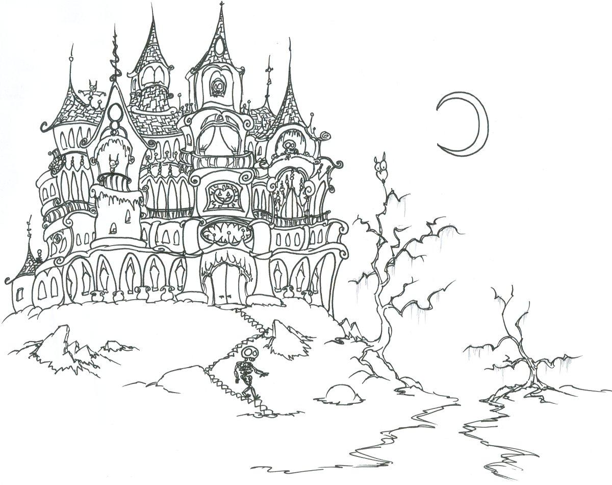dessin en halloween