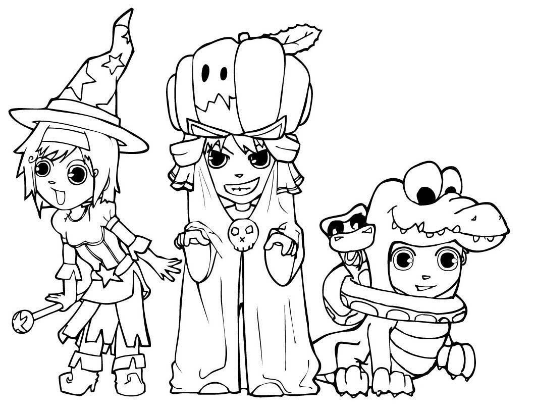 Dessin halloween format a4 - Halloween dessin ...