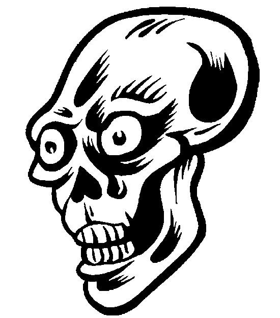 dessin à colorier ecriture halloween