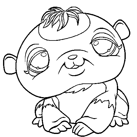 17 dessins de coloriage hamster a imprimer gratuit imprimer - Hamster gratuit ...