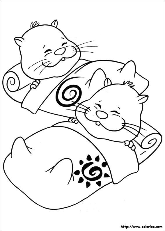 dessin hamster en ligne