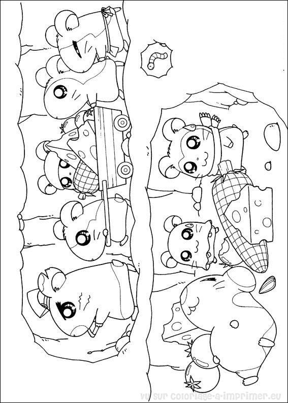 petit dessin hamster