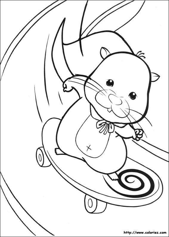 dessin master hamster
