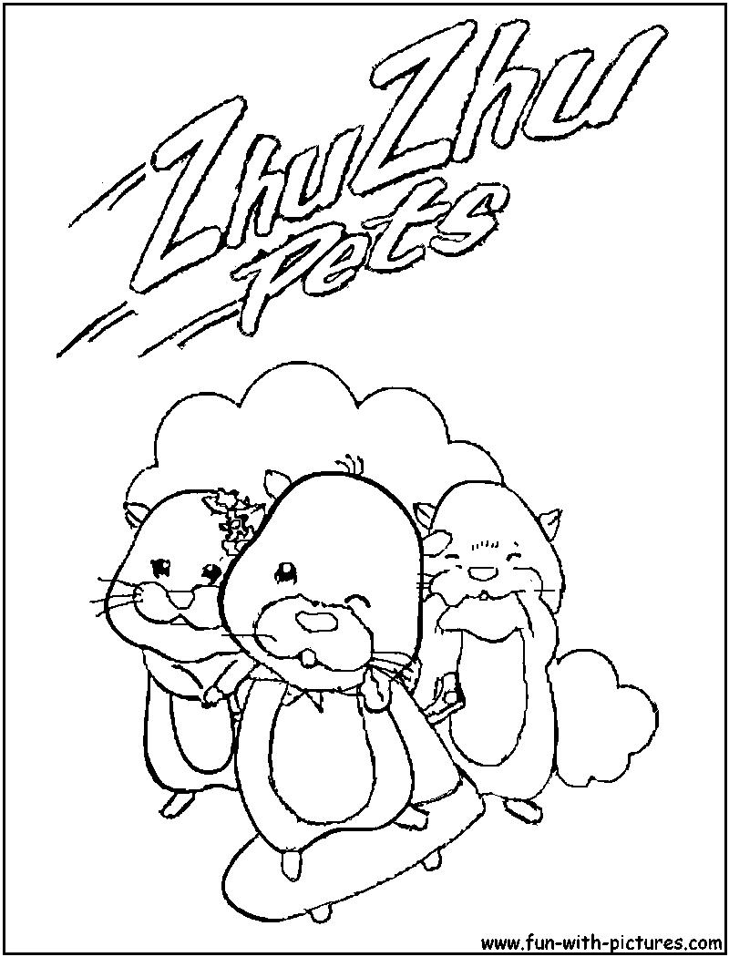 coloriage animé master hamster