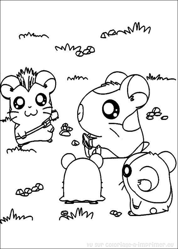 Coloriage anim hamster agent secret - Hamster agent secret ...