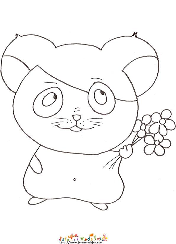 comment dessiner hamster facilement