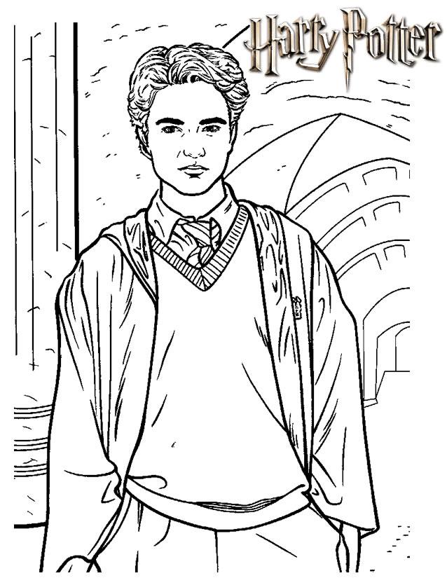 Coloriage A Dessiner En Ligne Harry Potter Gratuit