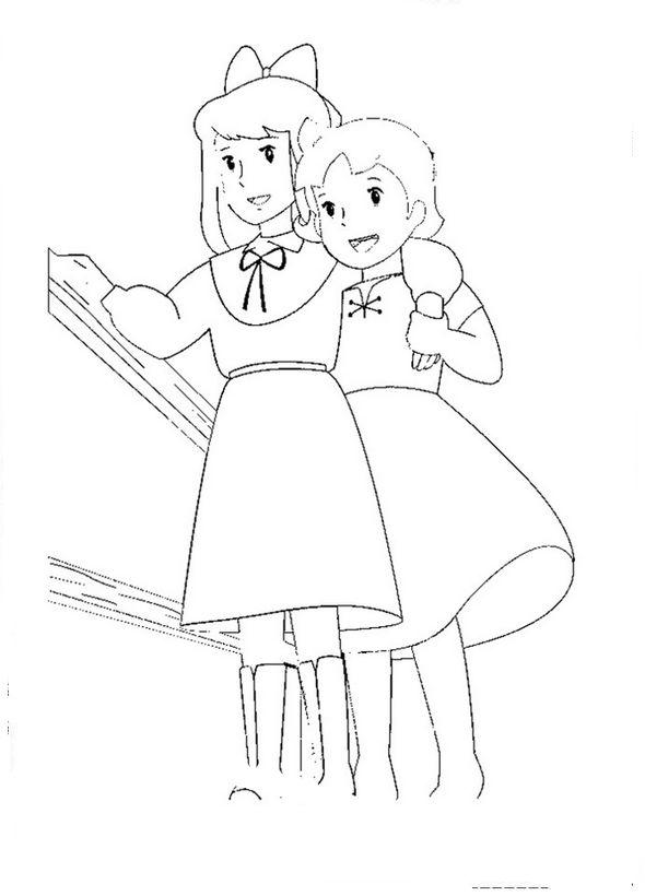 dessin de heidi
