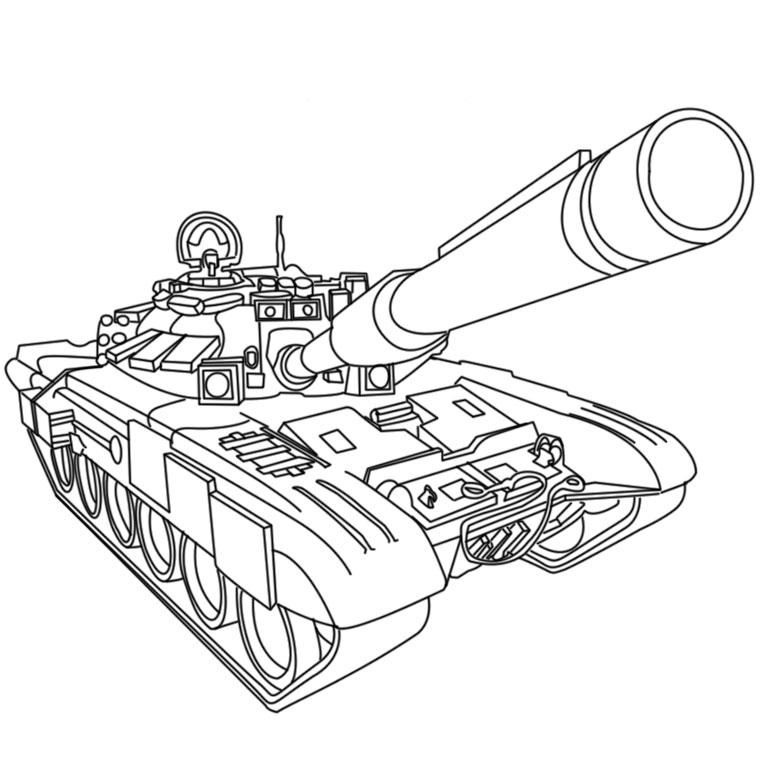 coloriage d'hélicoptère militaire