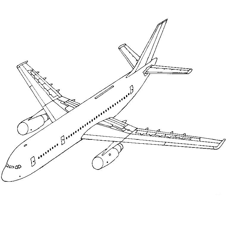 dessin à colorier hélicoptère de sauvetage
