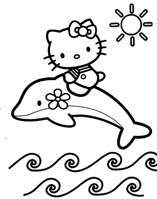 20 dessins de coloriage hello kitty a colorier sur - Coloriage hello kitty a colorier ...