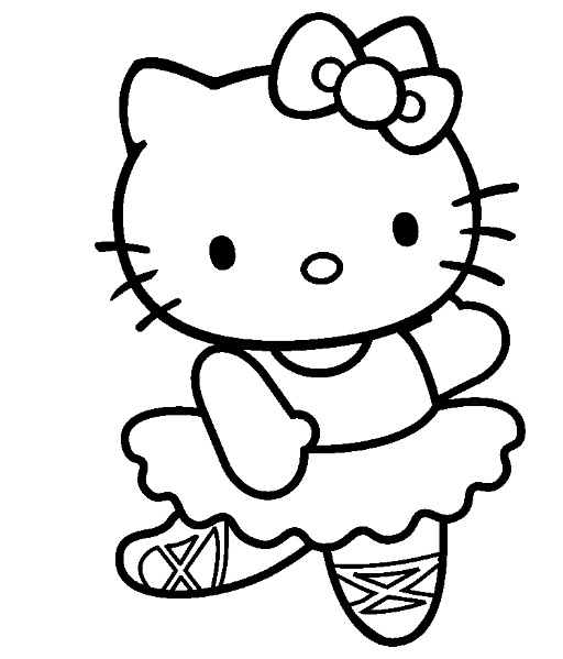 20 dessins de coloriage hello kitty en ligne imprimer - Coloriage hello kitty en ligne ...