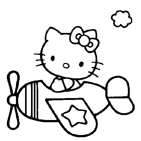 20 dessins de coloriage hello kitty en ligne imprimer - Coloriage hello kitty a colorier ...