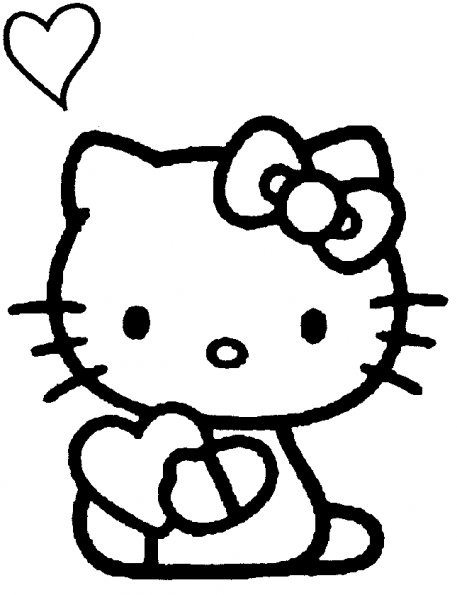 coloriage hello kitty pour anniversaire
