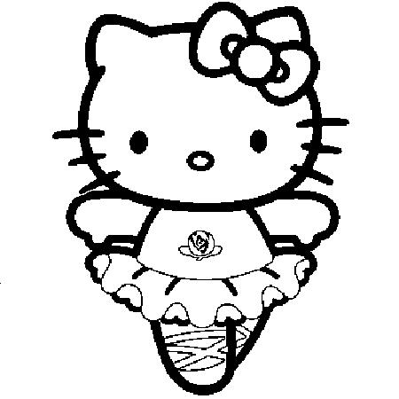 tous les coloriage hello kitty