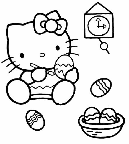 coloriage hello kitty en sirene
