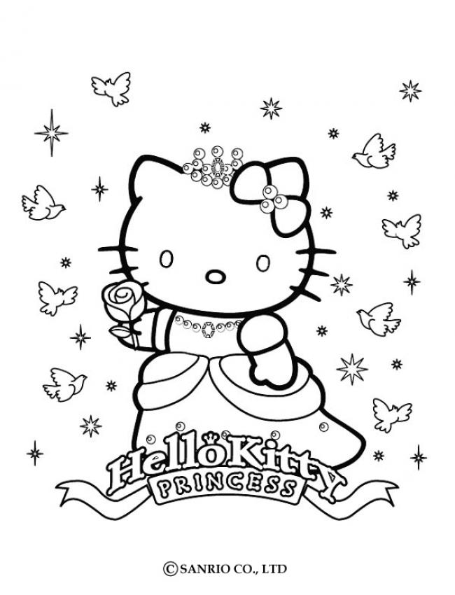 jeux fille coloriage hello kitty