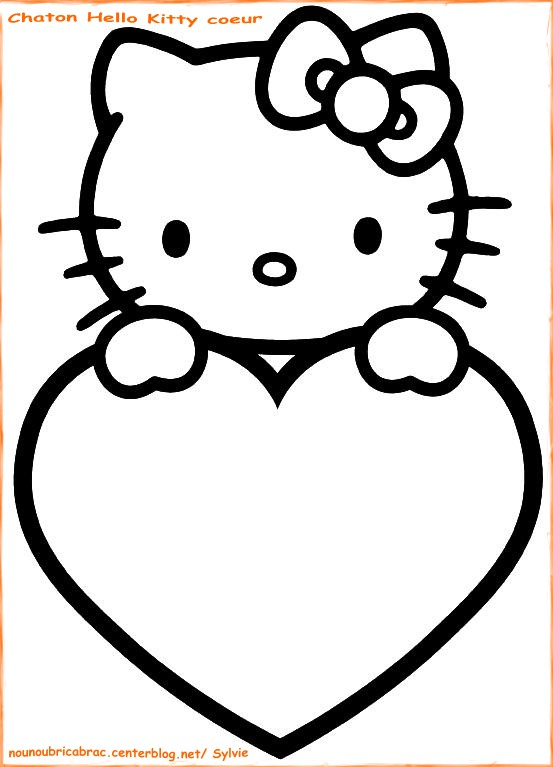 valisette coloriage hello kitty